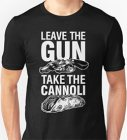 Italian Jokes T-Shirt: Leave the Gun, Take the Cannoli