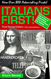 Italians First!: An A to Z of Everything Achieved First by Italians - Amazon