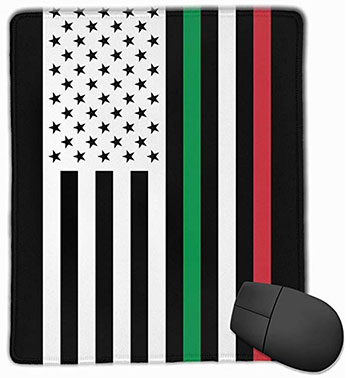 Mouse Pad US Italy Flag - Custom Non-Slip Rubber Gaming Mouse Mat on Amazon