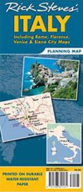 Rick Steves' Italy Map on Amazon
