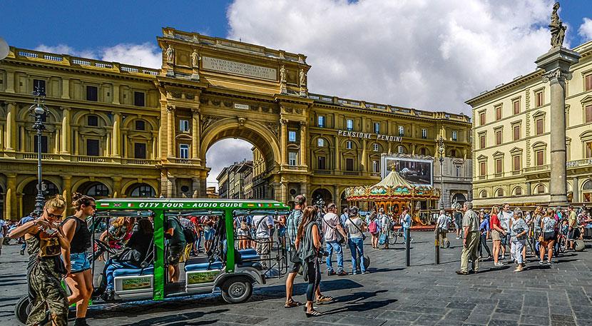 Italy Bus Tour
