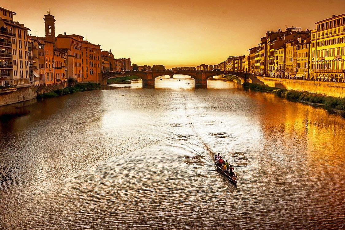 Italy Photos - Ponte Vecchio