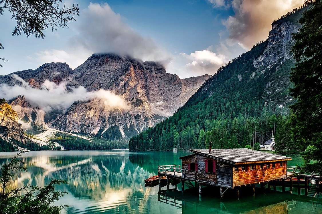 Italy Photos - Pragser Wildsee
