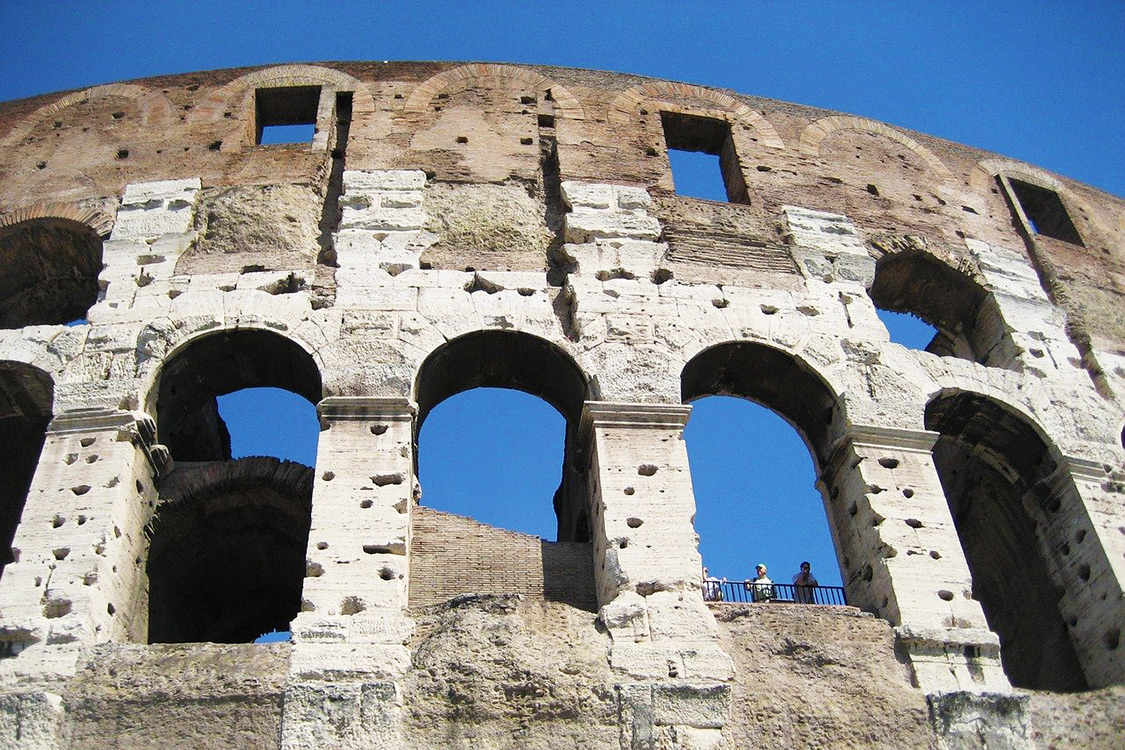 Italy Photos - Rome Colosseum