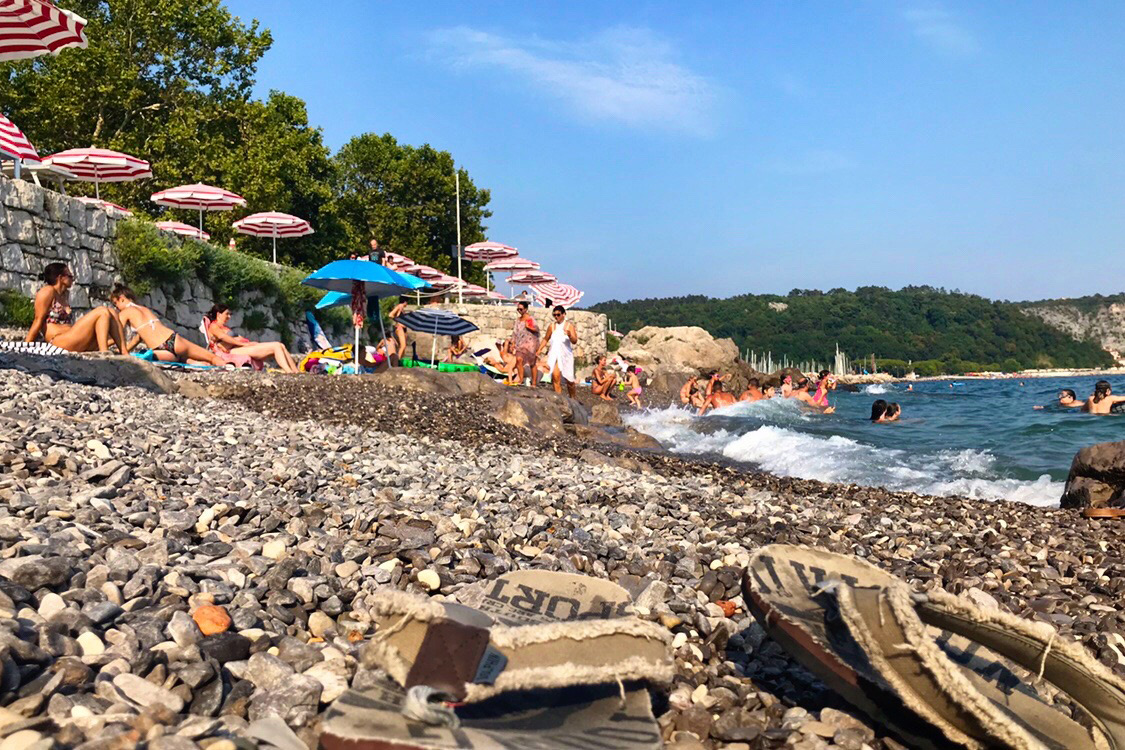 Italy Photos - Sistiana Beach