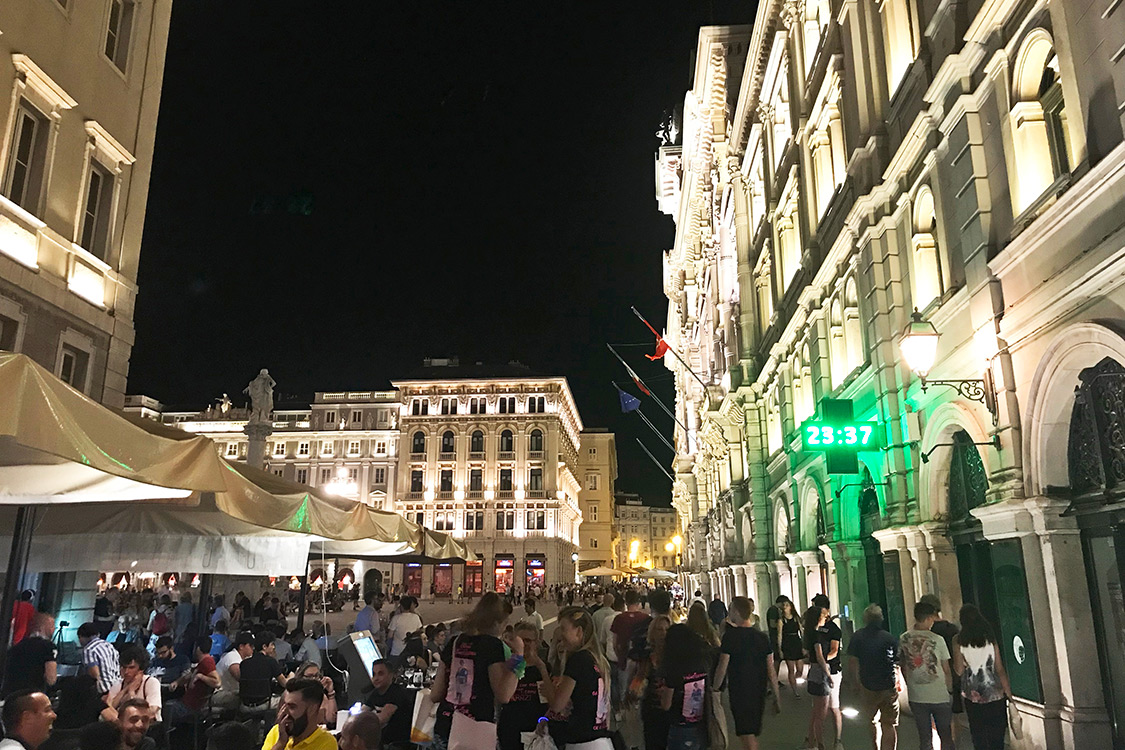 Italy Photos - Trieste Night