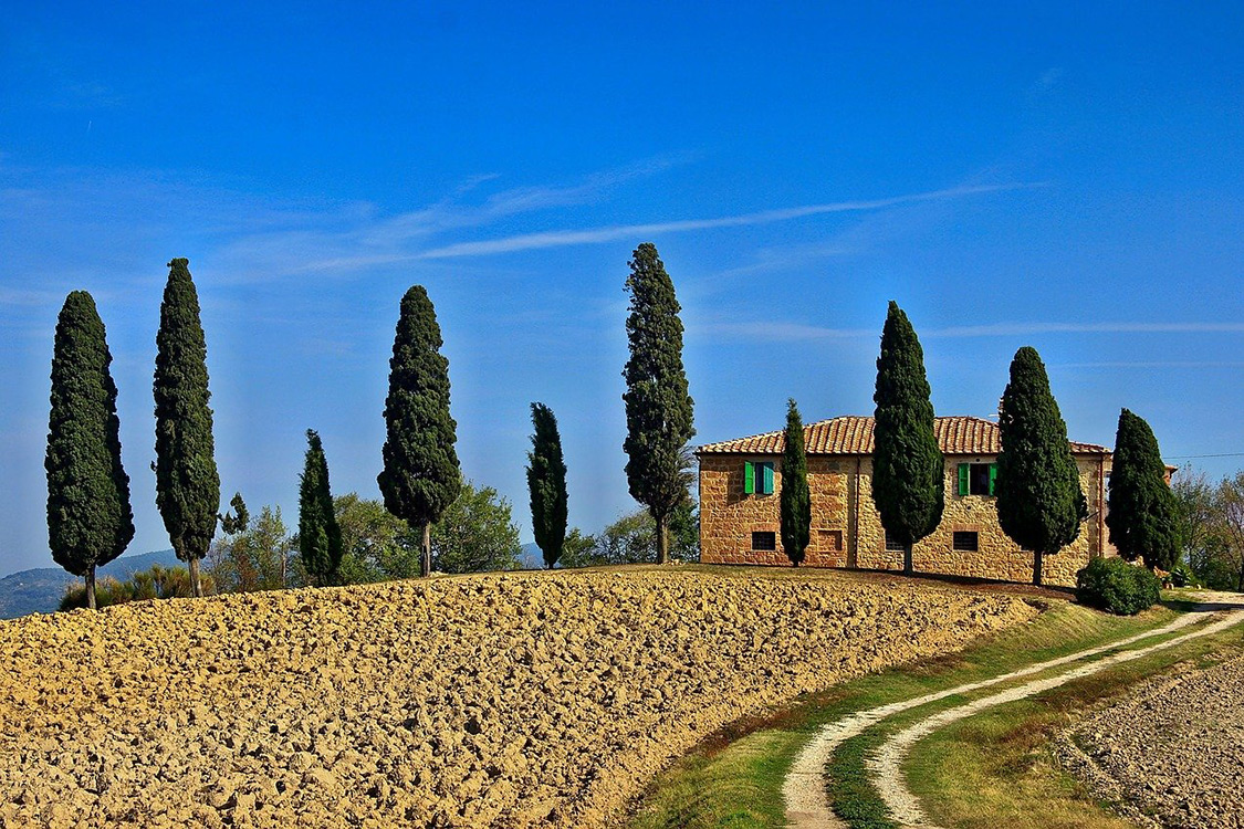 Italy Photos - Tuscany