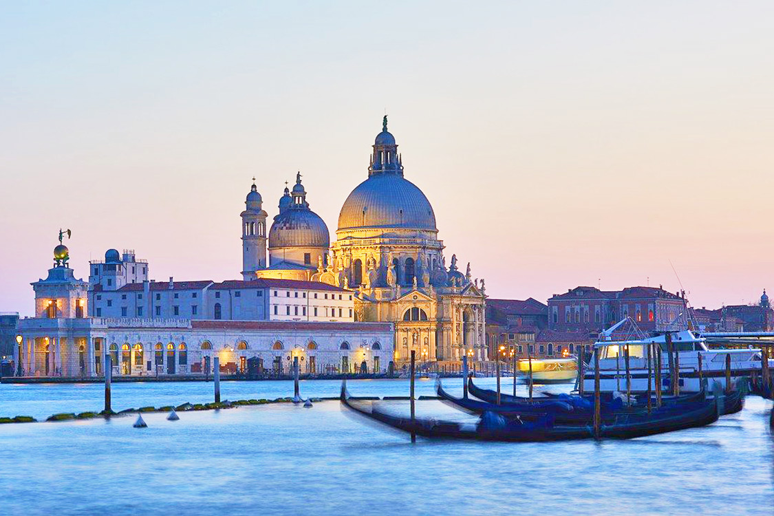 Italy Photos - Venice Sunset
