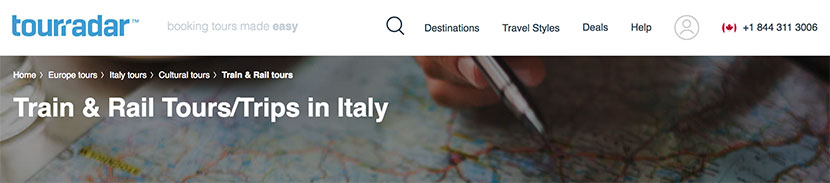 Italy Train Travel - TourRadar Train & Rail Tours