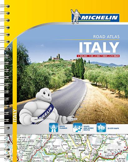 Michelin Italy Road Atlas