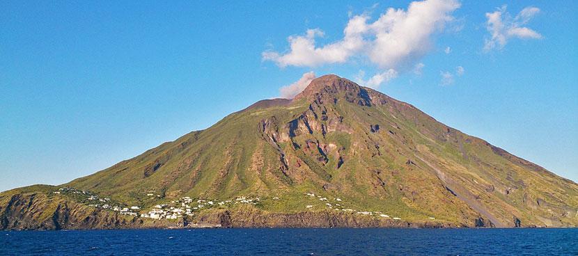 Isola di Stromboli Vulcano