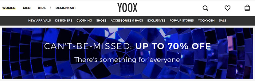 Shop for Designer Italian Brands at Yoox