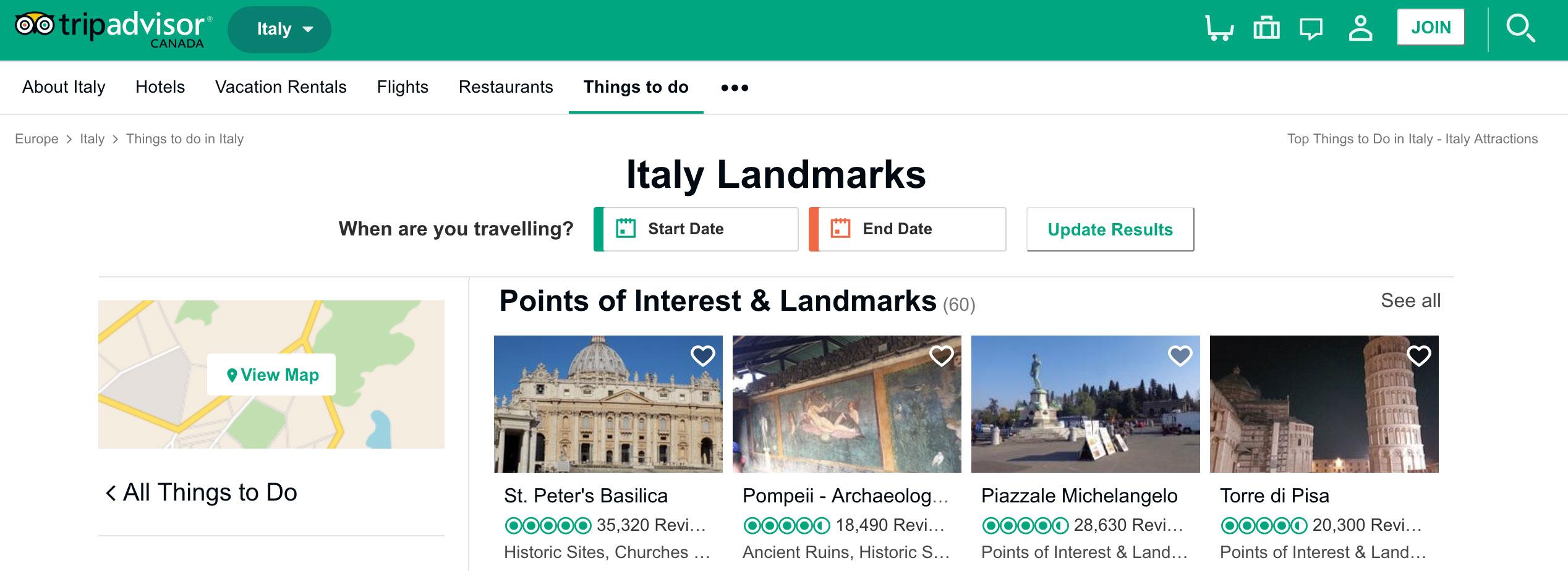 Italy Sights & Landmarks - Trip Advisor
