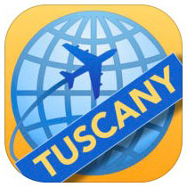 Tuscany Travelmapp by Travelmapp.com