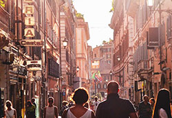 Walking Tours Italy