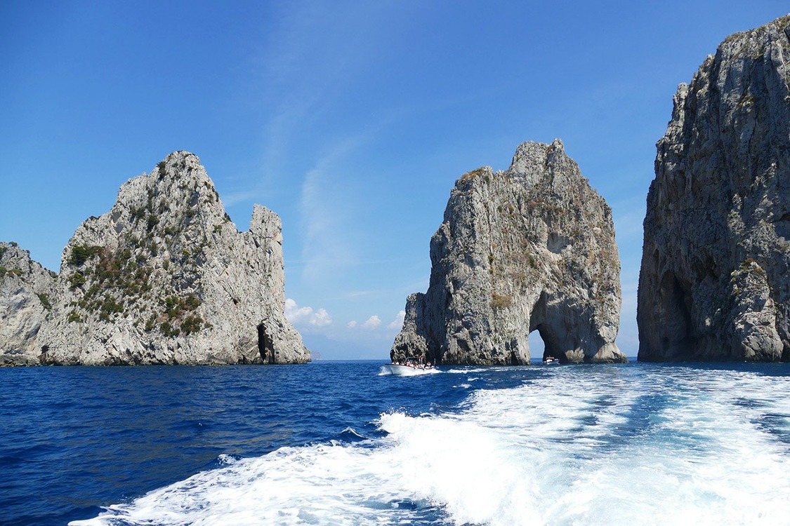 Italy Photos - Capri Coast