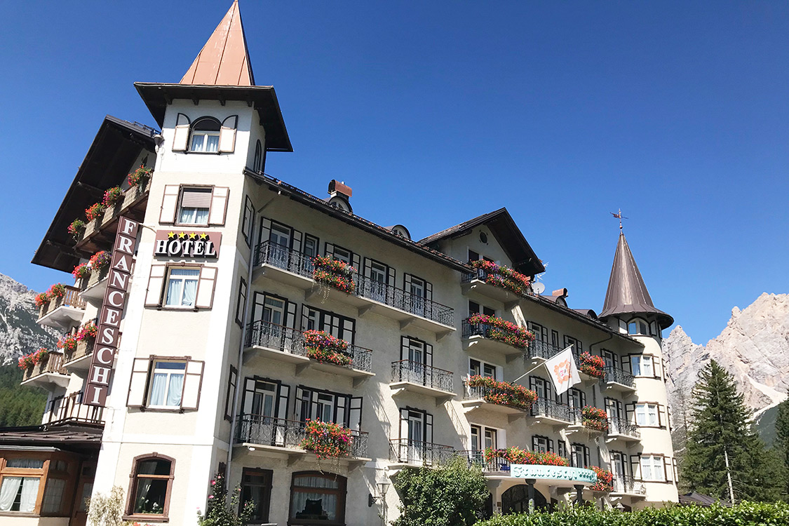Italy Photos - Cortina, Franceschi Park Hotel