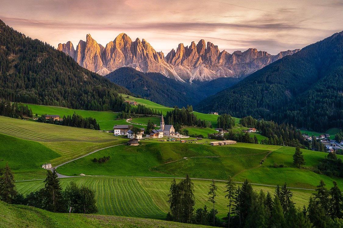 Italy Photos - Funes, Dolomites