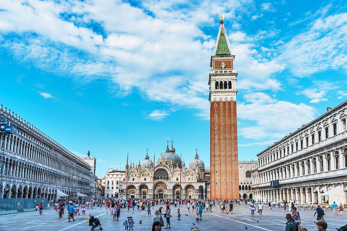 Italy Photos - St. Mark's Square