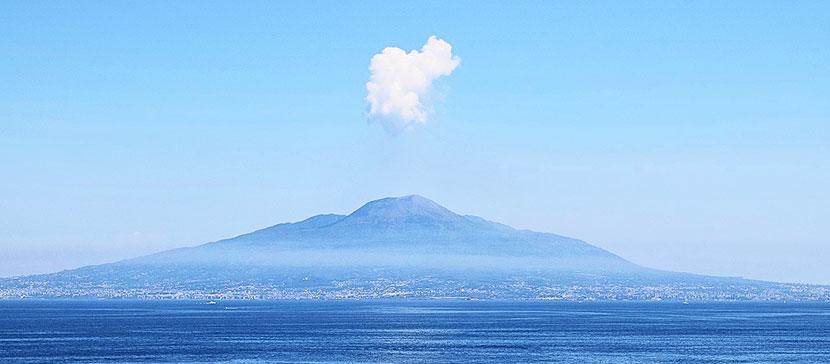 Mount Vesuvius Volcano